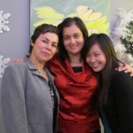Our great phlebotomist, office manager & receptionist